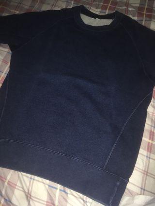 Uniqlo U indigo sweater