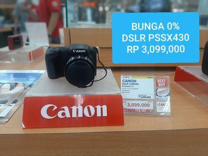 Camera Canon DSLR pssx430 kredit Dp 19i Ribu Bunga 0% Jakarta