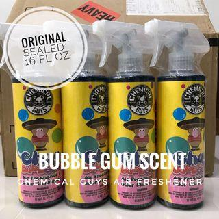 Bubble Gum Scent Air Freshener Spray Chemical Guys Detailing Grooming