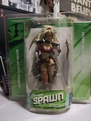 Tiffany The Amazon No Eyes Variant - The Adventures of Spawn