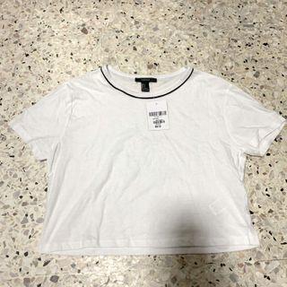 🚚 F21 basic white top