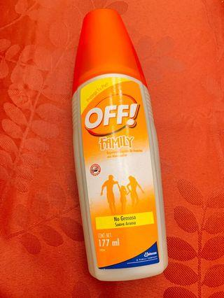 OFF!  insect repellent 驅蚊噴霧