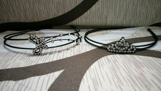 BN hairband with sparkles