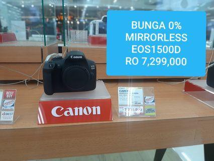 Canon Eos1500D Bisa Kredit Tanpa Kartu Kredit Bunga 0% Jakbar