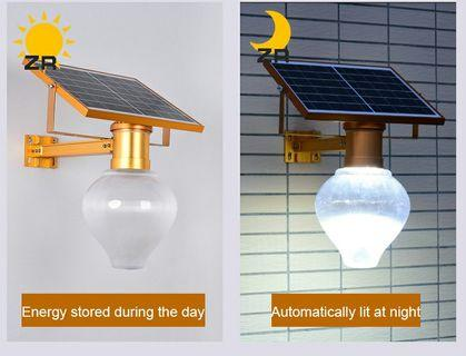 Solar street lamps outdoor garden balconies home LED