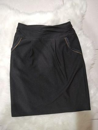 Black Skirt high waist #MGAG101