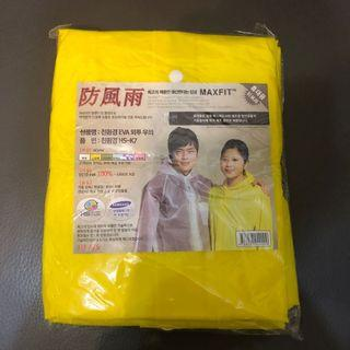 Yellow rain coat 3 pcs 雨衣 3件