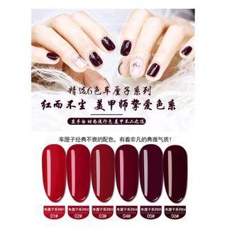 🚚 【Lynn Nails Design】櫻桃紅 經典紅 光療膠 光療指甲油 甲油膠 光療美甲 凝膠美甲