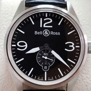 Bell&Ross BR 123 Vintage Black full set