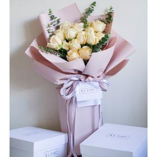 🚚 15 Champagne Roses Bouquet | 🌹 CITRINE wishing for forgiveness