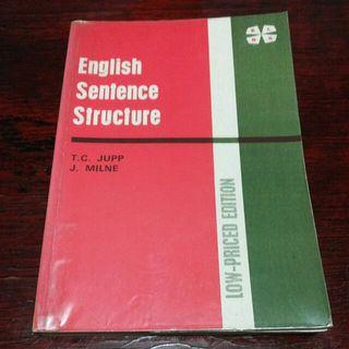 English Sentence Structure by T.C. Jupp and J. Milne