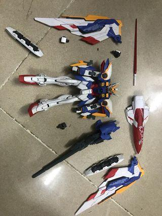 [GFF] 無盒BANDAI 新機動戰士 高達GUNDAM FIX 0006XXXG-01WE WING GUNDAM