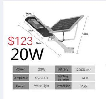 Solar lamp Multiple specifications