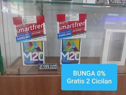 Kredit Samsung M20 DP620 ribu Tanpa Jaminan Bunga 0%
