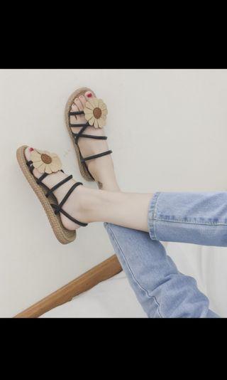 🚚 波希米亞風平底涼鞋