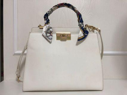 Charles & Keith White Bag (Large)