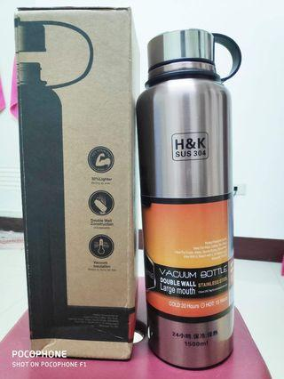 🚚 Vacuum Bottle 1500ml with Bag