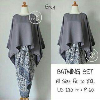 🚚 Batwing Batik Set