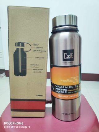 🚚 Vacuum Bottle 1100ml