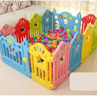 FREE Delivery - 10 Panels +1 Door +1 Activity Panel Baby Kids playyard Play yard Playpen Safety Playground