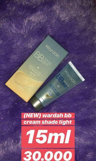 Wardah lightening Beauty balm cream SPF 32 PA+++ shade light 15ml