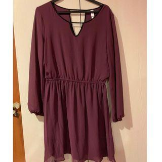 🚚 Maroon dress