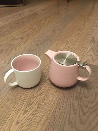 全新 MAXWELL WILLIAMS 一套二件 茶杯茶壺套裝