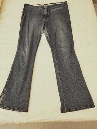 🚚 Authentic Streachable Giordano blue Jeans Ladies Hip Hugger
