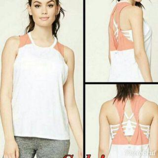 Forever 21 Back Cutout Top