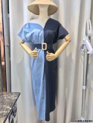 🚚 Linen dress with belt