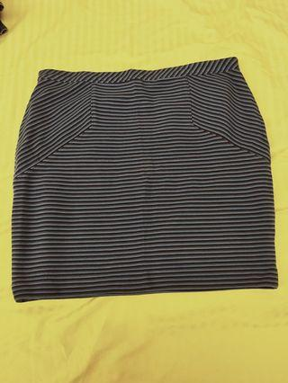 🚚 * Reduced price * Strechable Office Cotton Blue Skirt