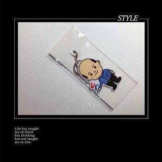 正版 立體造型一卡通鑰匙圈 Q版韓總 韓國瑜/珊娃