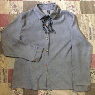 Kemeja Vintage grey