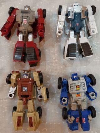 Transformer Power of Primes Beachcomber, Windcharger, Tailgate and Outback Legend Class