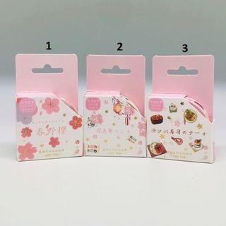 🚚 Beautiful Food Series Washi Masking Tapes