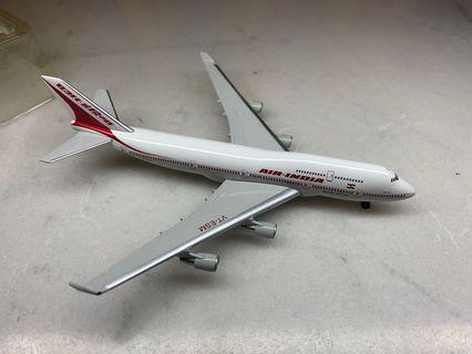 herpa 1:500 boeing 747-400 India