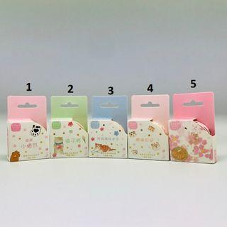 🚚 Cute Kitten Series Washi Masking Tapes