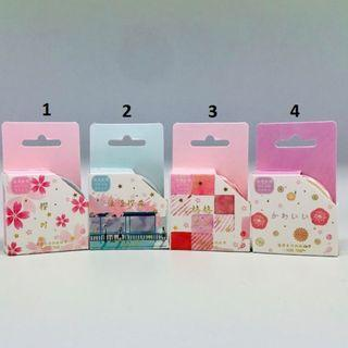 🚚 Beautiful Flower Series Washi Masking Tapes