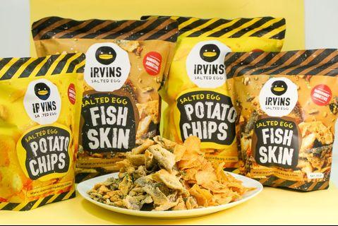 OPEN PO: Irvins Salted Egg Large