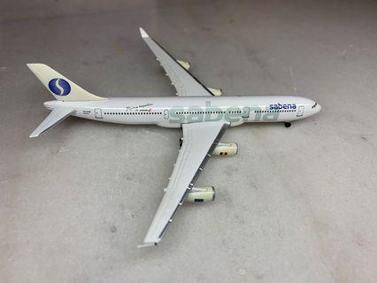 herpa 1:500 airbus A340-200 sabena