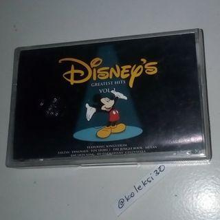 Kaset Disney greatest hits