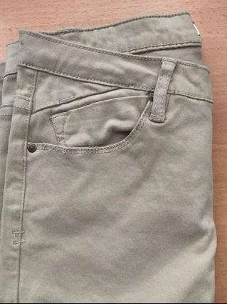 Skinny Cream Pants