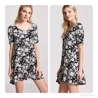 Forever 21 Floral Swing Dress
