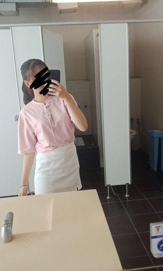 Korean Pink Top