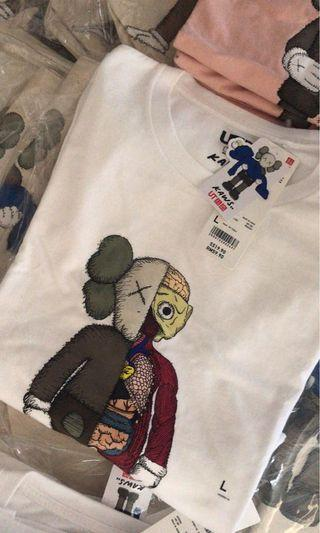 Kaws uniqlo half body