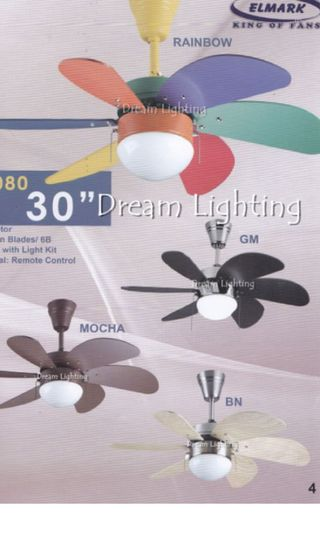 "🚚 ELMARK 30"" Mini Ceiling Fan"