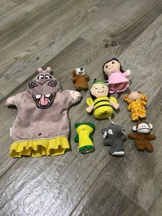 🚚 Finger Hand Puppets