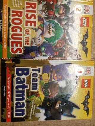 Lego book Level 2 硬皮書2本
