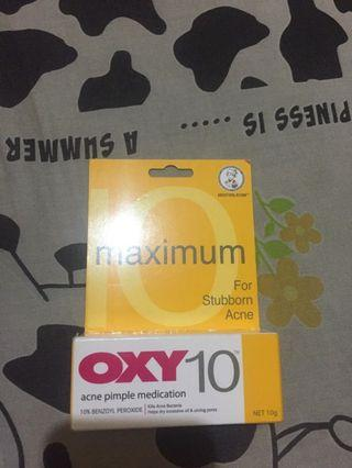 OXY 10 Acne Pimple MEDICATION
