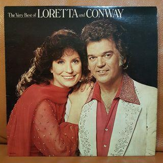 Reserved: The Very Best Of Loretta Lynn & Conway Twitty  Vinyl Record